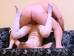 19-year-old student Arina furiously sucks cock and fucks on a private casting